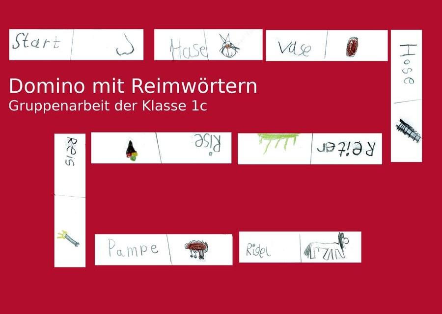 Deutsch, Klasse 1, Domino