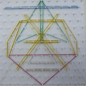Mathematik, Übungen am Geobrett