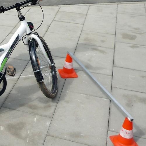 Sachunterricht, Fahrradtraining mit Hindernissen